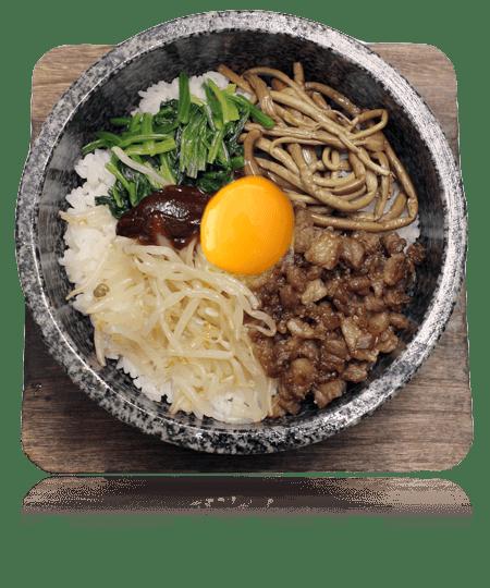 岡山焼肉店 龍現 お米・麺