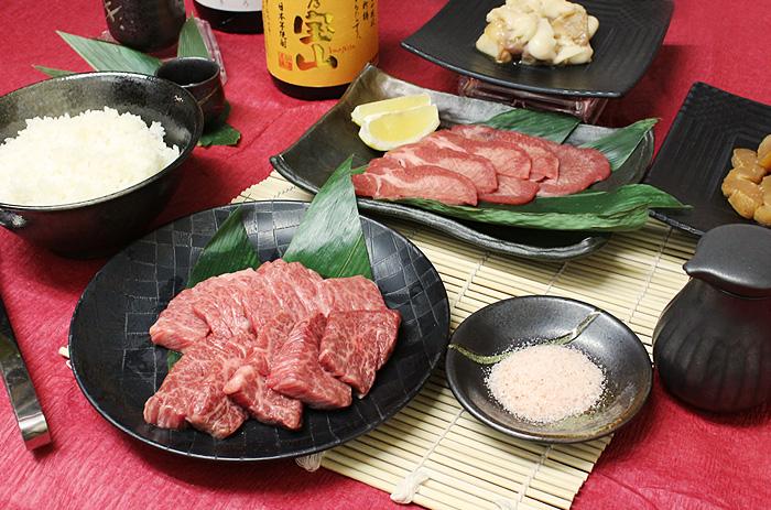 岡山焼肉店 龍現 紅梅コース