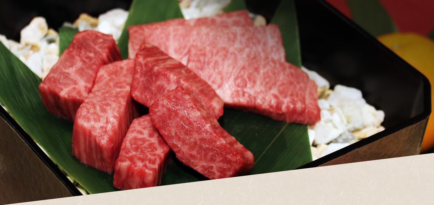 岡山の高級焼肉店 肉処 龍現